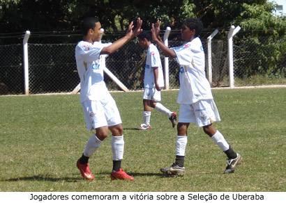 Gansinho vence Seleção de Uberaba por 3 a 0