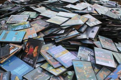 Operação de combate ao contrabando apreende mais de 5 mil CDs e DVDs
