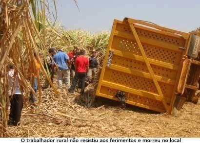 Trabalhador rural morre ao ser esmagado por carreta na BR-452