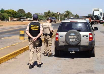 PRF de Araxá já realizou seis apreensões de produtos falsos e contrabandeados