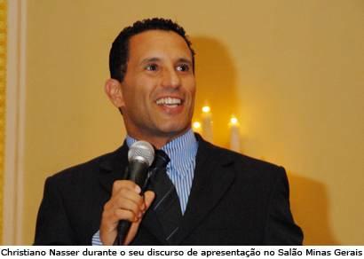Christiano Nasser é apresentado como novo gerente do Ouro Minas Grande Hotel