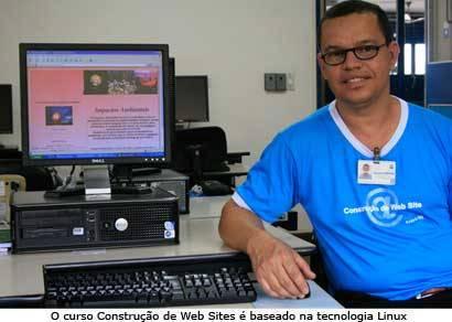 Professores da rede estadual constroem Web Sites durante curso do Senac Araxá