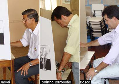Confira a votação dos candidatos a prefeito