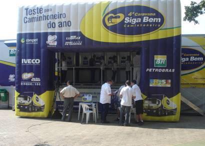 Araxá recebe pela primeira vez a Caravana Siga Bem Caminhoneiro