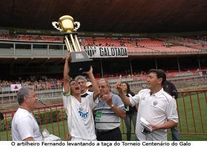 Gansinho é campeão do Torneio Centenário do Galo