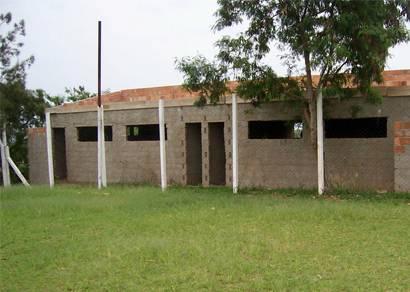 Campo de futebol do Boa Vista vai ganhar vestiários