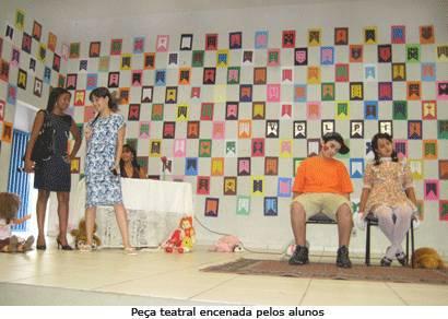 Escola Maria de Magalhães realiza várias expressões culturais na Mostrartes
