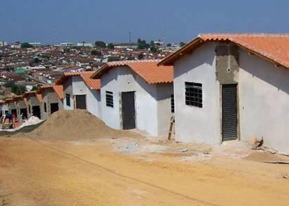 Casas do PSH estão em fase final de acabamento