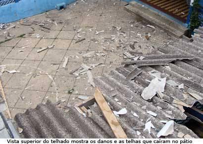 Chuva causa estragos e aulas no Vasco Santos são suspensas