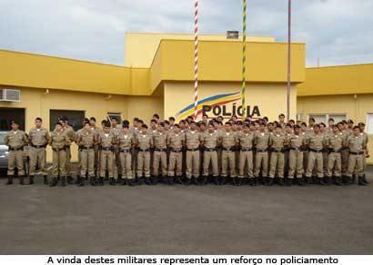 Araxá e região recebem reforço no policiamento