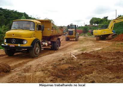 Obras na avenida Tonico Veloso são retomadas