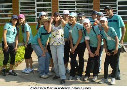 Estudantes visitam Estação Ambiental Galheiro