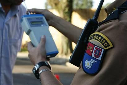 Polícia Rodoviária Federal já autuou mais de nove mil motoristas alcoolizados