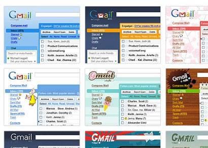 Google lança 31 temas para o Gmail