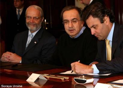 Fiat vai manter investimentos de R$ 5 bilhões em Minas