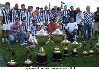 Araxá é campeão do Amador de Juniores