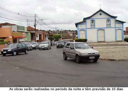 Entorno da Igreja São Sebastião recebe sinalização