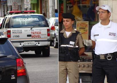 Policiamento é reforçado durante o Natal