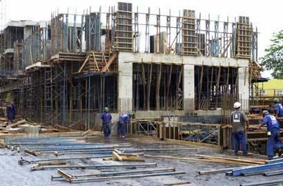 Construção civil cresce 11,7% no terceiro trimestre