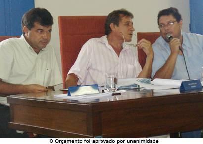 Câmara aprova Orçamento de R$ 103 mi para 2009