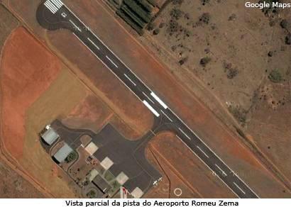 Mau tempo cancela e atrasa vôos em Araxá