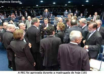 Senado aprova PEC que aumenta número de vereadores