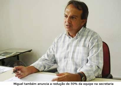 Miguel Jr. fala sobre o desvio de finalidade dentro do PCA