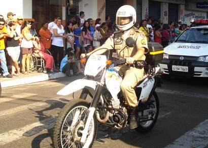PM intensifica patrulhamento com a utilização de motos