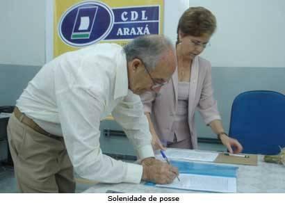 Câmara de Dirigentes Lojistas de Araxá tem novo presidente