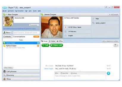 Novo Skype 4.0