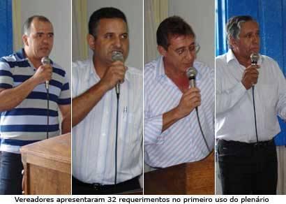 Vereadores iniciam os trabalhos sem a abertura do processo legislativo feita pelo prefeito