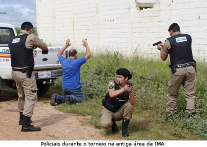 37° BPM promove Torneio de Abordagem Policial com equipes de Araxá e região