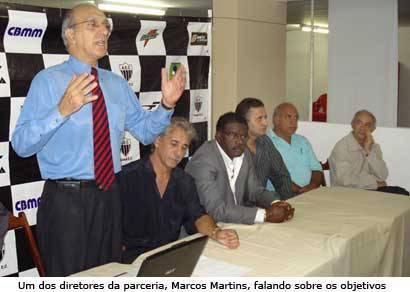 Araxá apresenta parceria oficialmente
