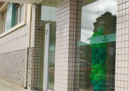 Bandidos arrombam agência bancária e levam cerca de R$ 60 mil