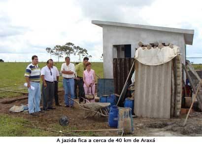 Empresário descobre nova jazida de água mineral em Araxá