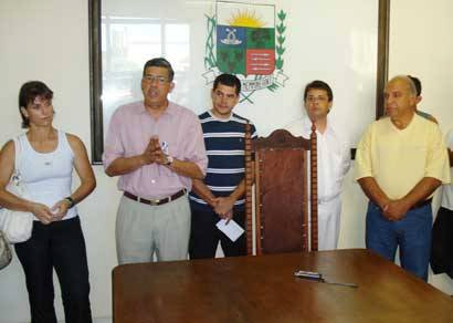 Jeová recebe representantes do esporte especializado