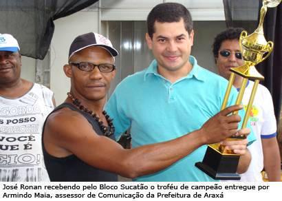 Sucatão vence o Desfile de Blocos do Carnaval de Araxá