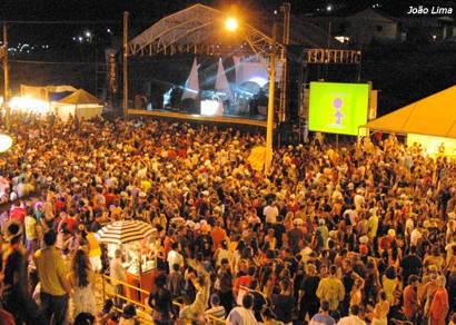 Foliões comparecem em grande número na Avenida do Samba