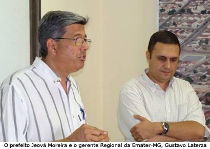 Prefeitura e Emater firmam convênio para o desenvolvimento rural