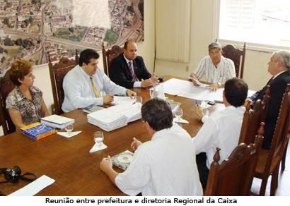 Jeová e diretoria da Caixa se reúnem para discutir programa habitacional