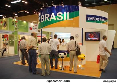 Araxá e BH compõem o estande de Minas durante a Expocomer no Panamá