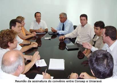 Consep ganha sede própria através de convênio com o Uniaraxá