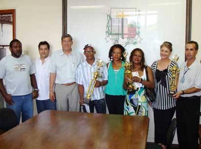 Blocos vencedores do Carnaval recebem premiação