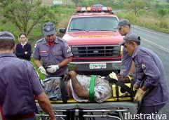 Duas pessoas morrem e três ficam feridas em acidente na BR-262