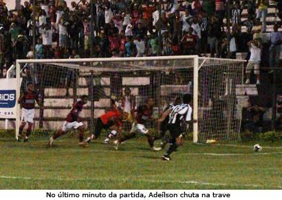 Ganso fica no empate sem gols contra o Itaúna