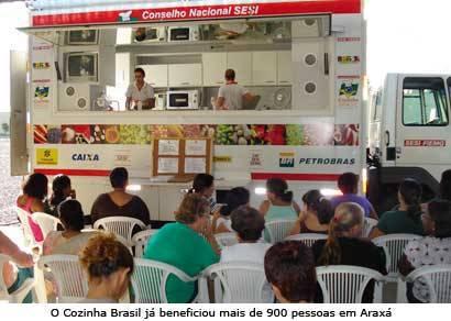 Sesi Cozinha Brasil capacita mais de 180 mulheres na Fagundes