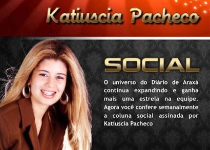 Katiuscia Pacheco estreia a Coluna Social do Diário de Araxá