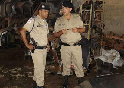 Operação Desmanche encontra várias irregularidades em oficinas de Araxá