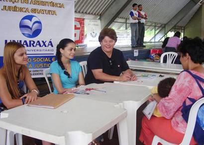 Assistência Judiciária do Uniaraxá prestou quase 2 mil atendimentos em 2008