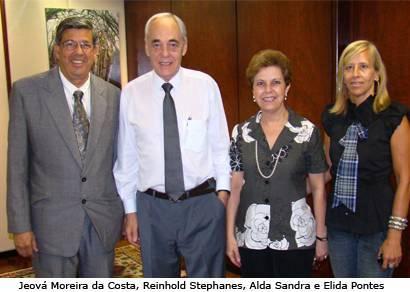 Jeová visita cinco ministérios em busca de recursos federais para Araxá